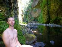 Highlight for album: Aaron & Dave make a trip up to Metlako Falls