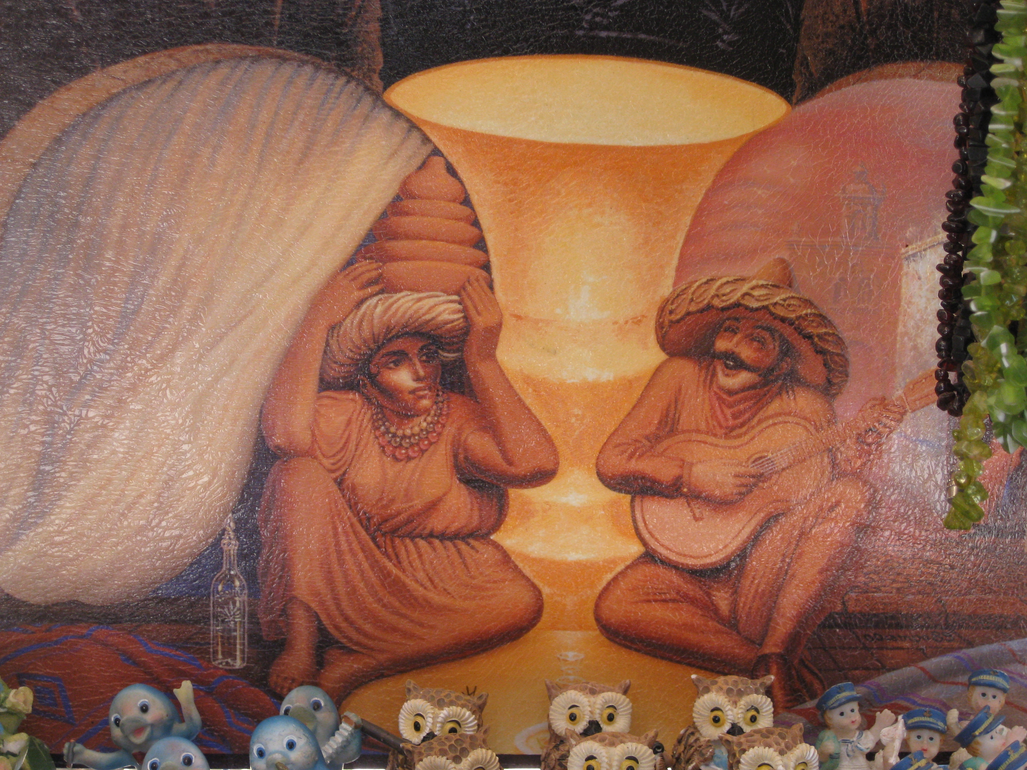 Gallery march fun in mexico optical illusion painting for Make a picture look like a painting