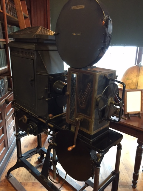 early movie projector