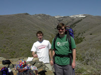 Highlight for album: Hiking Parrish Canyon Trail  -- May 2004
