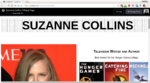 Tribute Page: Suzanne Collins