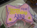 birthday butterfly cake