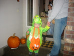 "Kyton was our ""dinosuar.""  We never did convince him or Toric he was a dragon.  But then, they really like dinosaurs."